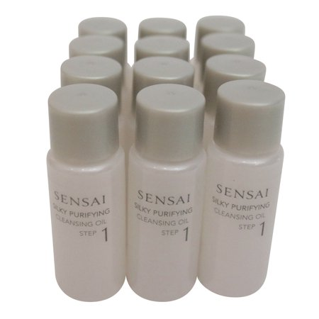 Sensai Silk Purifying Cleansing Oil Travel Set, 0.27 Oz x 12 - image 1 de 1