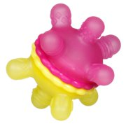 Munchkin Twisty Teether Ball - Yellow & Pink