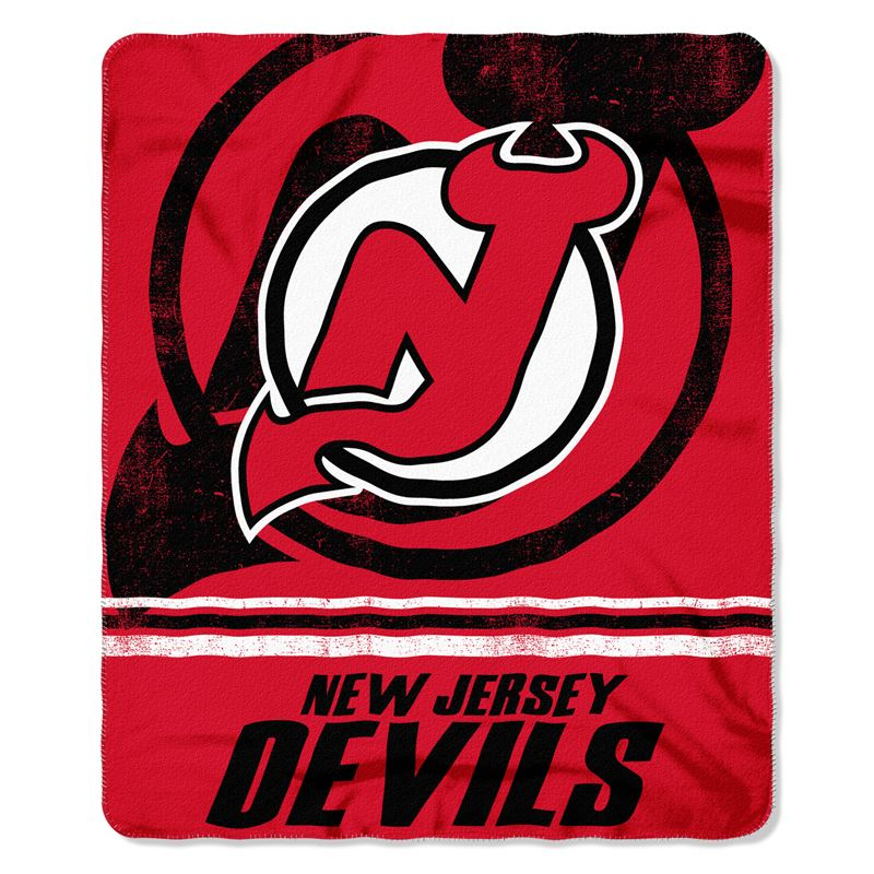 "NHL New Jersey Devils 50"" x 60"" Fleece"