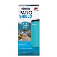 Thermacell Patio Shield Mosquito Repeller; 12 Hours of Spray-Free Mosquito Repellent