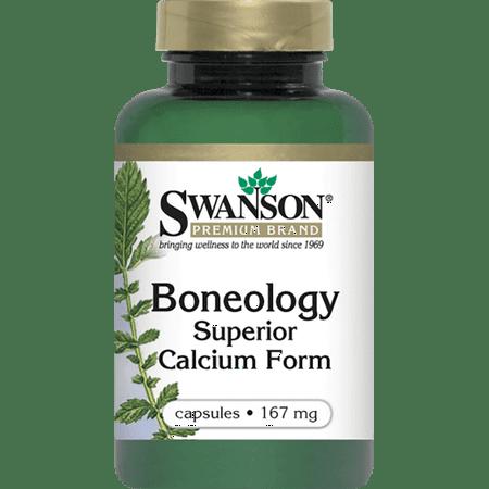 Swanson Boneology Superior Form Calcium 167 mg 120
