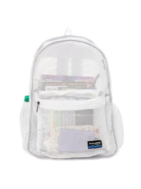 35789562e6 Product Image Mesh Backpack Heavy Duty Student Net Bookbag Quality Simple  Netting School Bag Security See Through Daypack