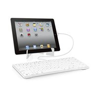 Macally Full Size Keyboard for iPad, iPhone and iPod Touch (iKey30)