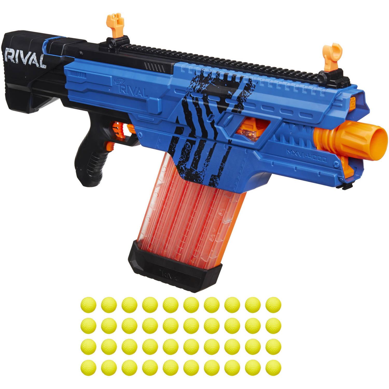 Buy Nerf Rival Khaos MXVI-4000 Blaster, Blue only $38.88