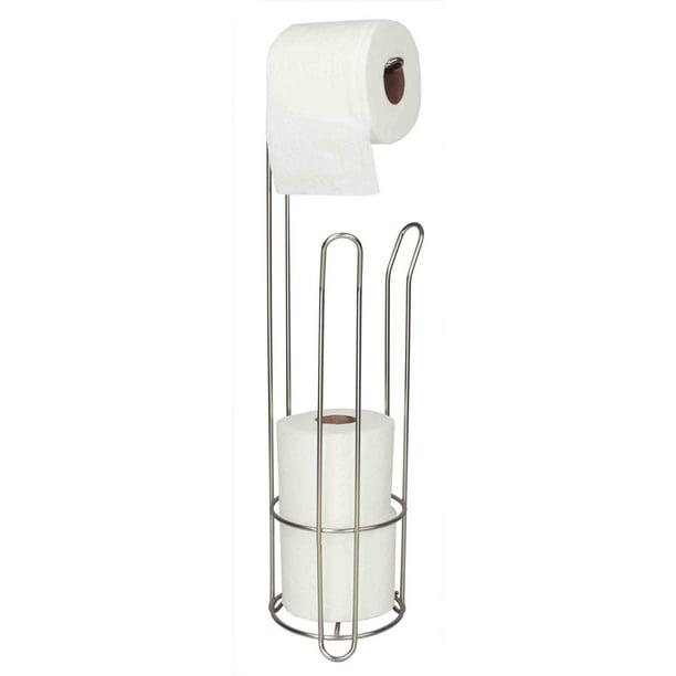 Home Basics Toilet Tissue Organizer White