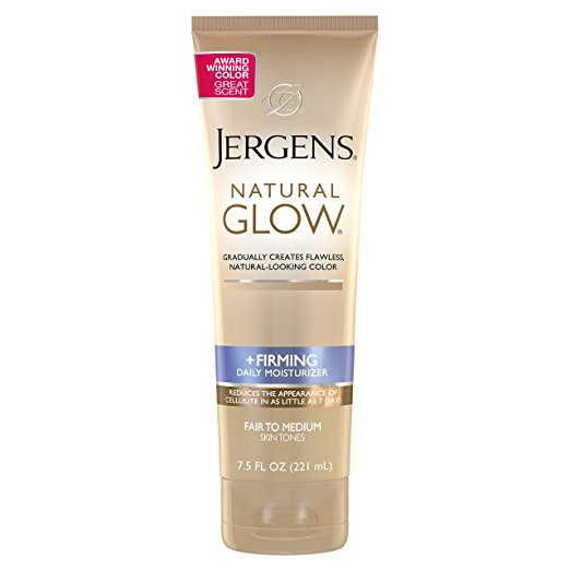 Jergens Natural Glow Firming Daily Moisturizer Fair To Medium 7 5