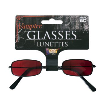 Red Vampire Glasses Halloween Costume (Halloween Glasses)