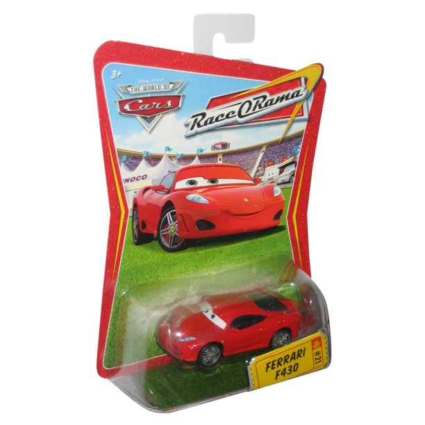 Disney Pixar Movie Cars Race O Rama Ferrari F430 Toy Car 21 Walmart Com Walmart Com