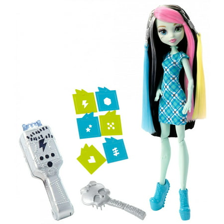 Monster High Voltageous Hair Frankie Stein Doll (Monster High Dolls Basic Travel)