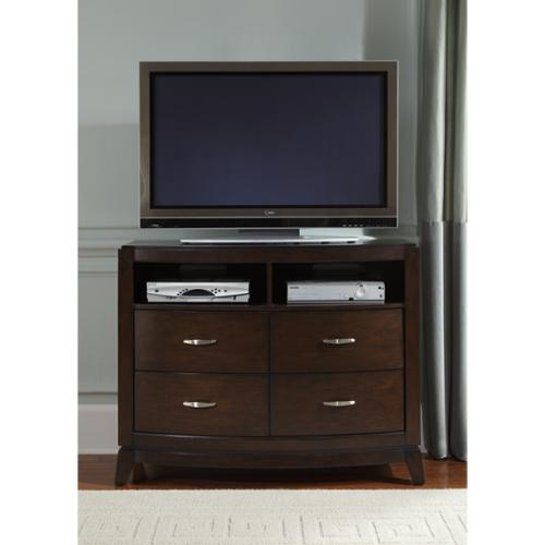 Liberty Furniture Industries Liberty Avalon Dark Truffle Media Chest