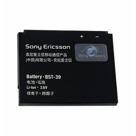 OEM Sony BST-39 Battery (900mAh) TM717 EQUINOX W380 W380a W380c W380i W518 OEM (W518 Rubber)