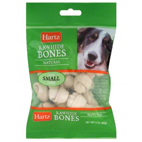 Hartz Prime Beef Natural Mini Bone Chew Dog Treat 3 oz (Pack of 2)