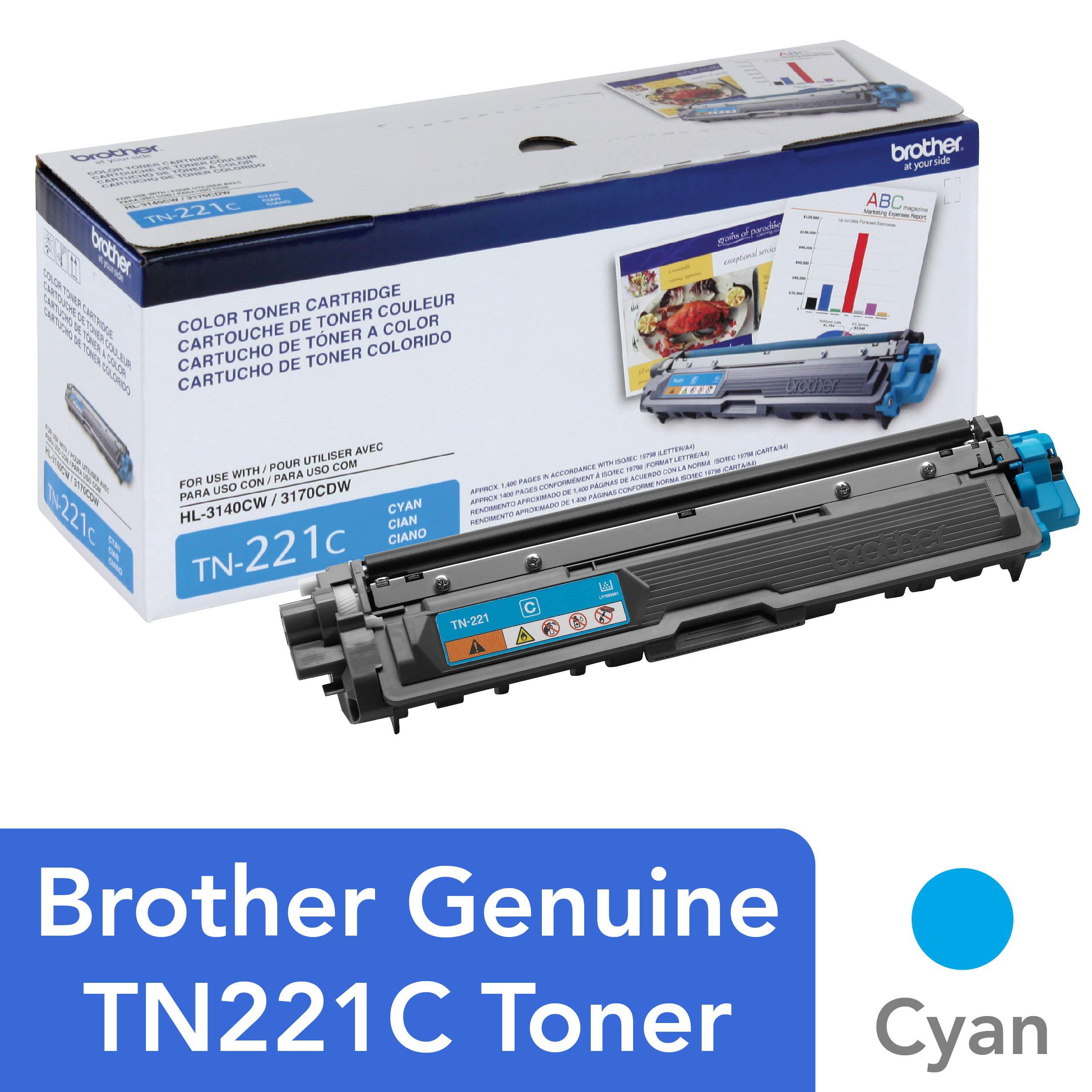 Brother 9340CDW Yellow Original Toner High Yield 2,200 Yield