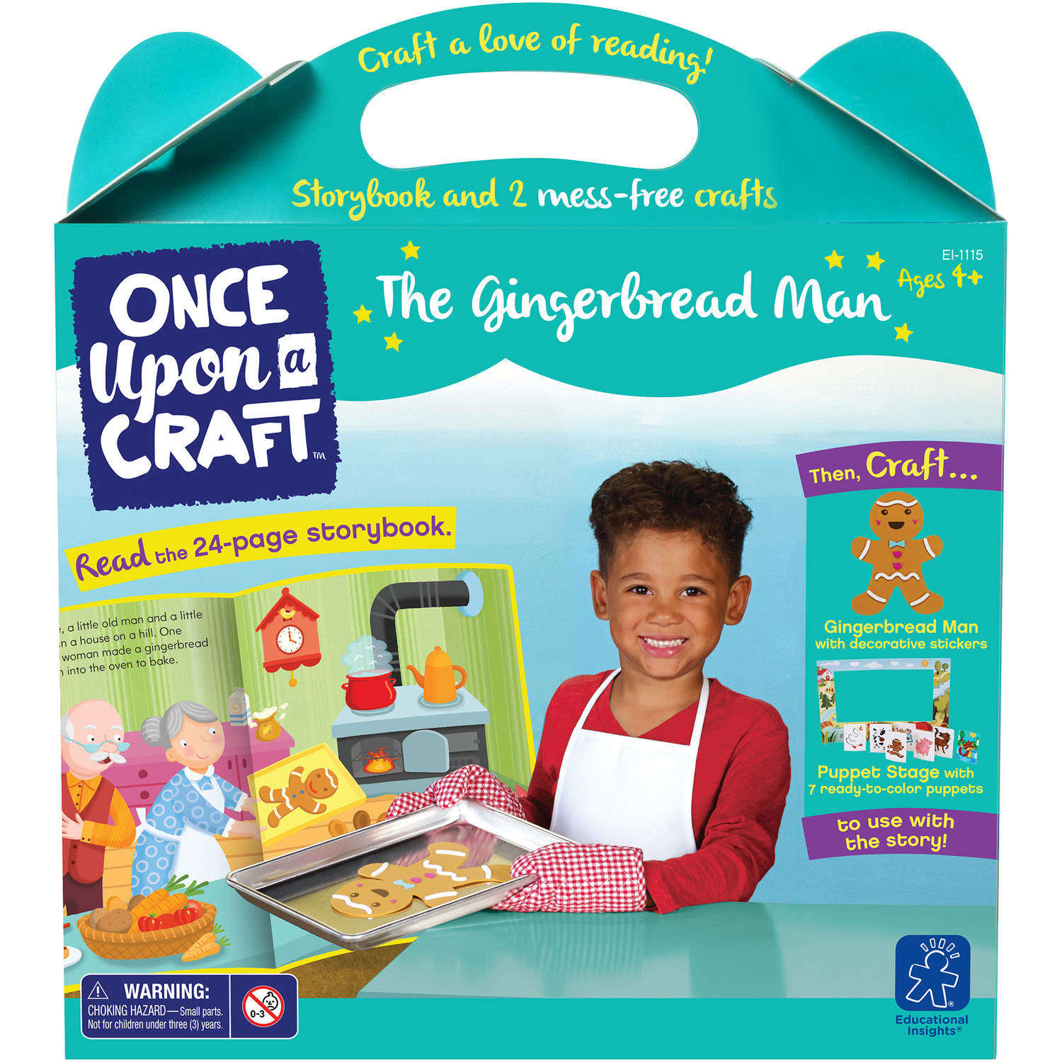 Educational Insights Once Upon a Craft, The Gingerbread Man
