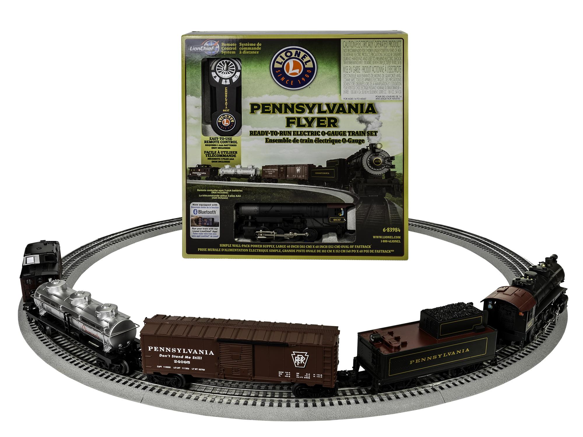 Lionel Trains PennSylvania Flyer Seasonal Freight LionChief Ready to Run Train Set w BlueTooth by Lionel, LLC