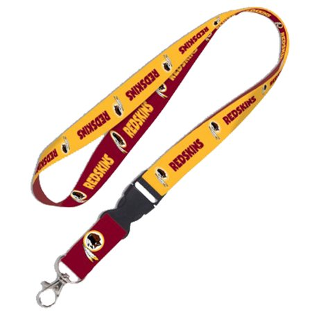 Washington Redskins Breakaway Lanyard - Burgundy/Gold - No Size