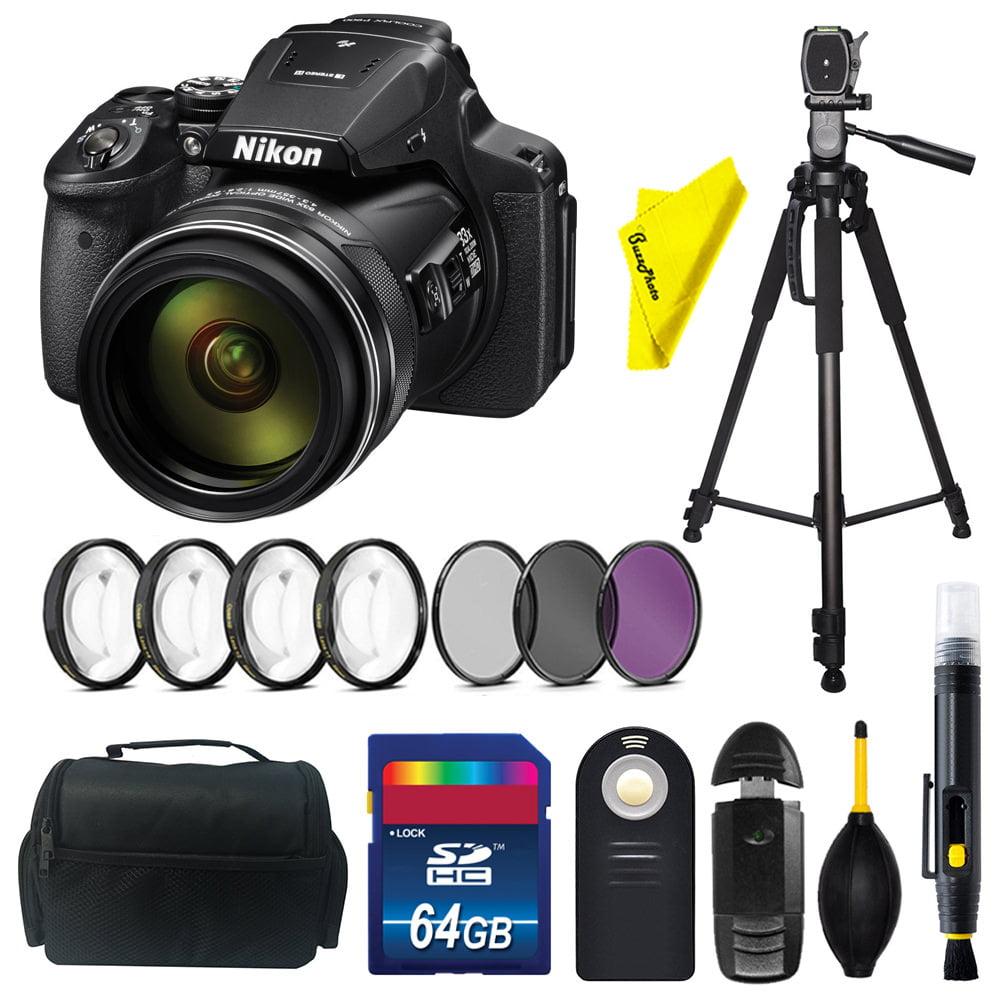 Nikon COOLPIX P900 Digital Camera + Buzz-Photo Starter Kit