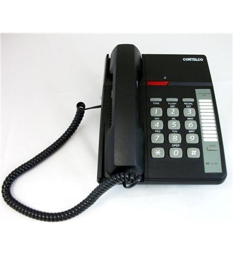 Cortelco Centurion Basic Corded Telephone with Volume Control - Black-ITT-3690BK