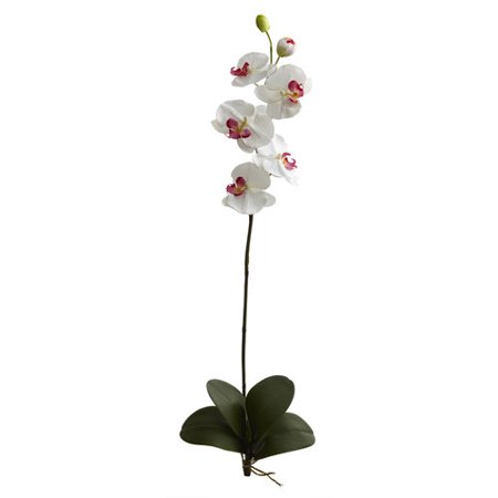 """40"""" Large Orchid Phalaenopsis Artificial Flower (Set Of 3)-WH ()"""
