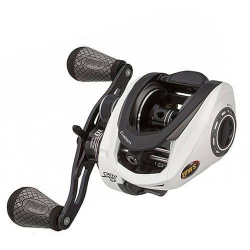 Lews Fishing Custom Speed Spool MSB Casting Reel, 7.5:1 Gear Ratio, 10 Bearings, 14 lb Max Drag, Right Hand by Lews Fishing