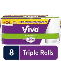 24 Rolls Viva Signature Cloth Paper Towels, Choose A Sheet