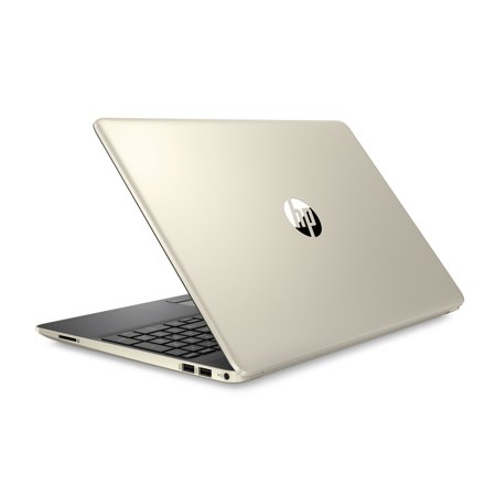 HP 15 Laptop, 15.6u0022 HD Display, Intel Core i5-8265U, 8GB, 256GB SSD, Pale Gold, 15-dw0052wm