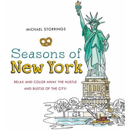 Seasons Of New York  Relax And Color Away The Hustle And Bustle Of The City