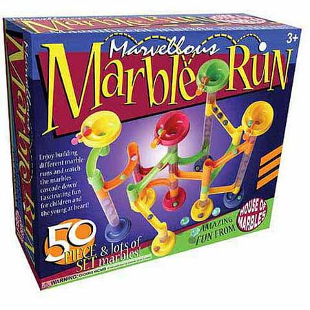 Marvellous Marble Run 50-Piece Set (Marble Toys)