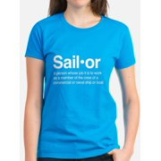 CafePress - U.S. Navy Sailor - Women's Dark T-Shirt