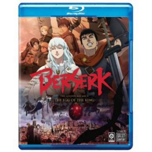 Berserk: The Golden Age Arc I The Egg Of The King (Blu-ray) (Widescreen) by VIZ VIDEO