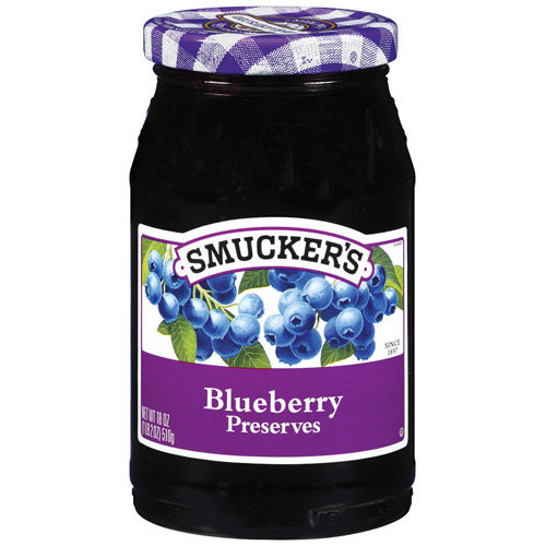 Smucker's Blueberry Preserves, 18 oz