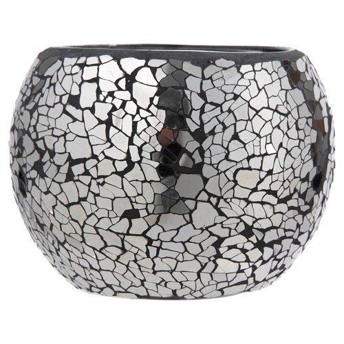black crackle bathroom accessories. Better Homes And Gardens Crackle Glass Mosaic Votive Holder  Black Walmart Com