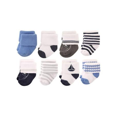 d38ee1993 Hudson Baby - Roll Cuff Crew Socks