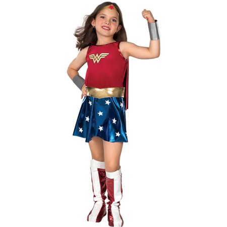 Wonder Woman Child Costume - Women's Victorian Vampire Goth Dress Halloween Costume
