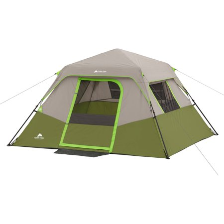 Ozark Trail 6 Person Instant Cabin Tent Walmart Com