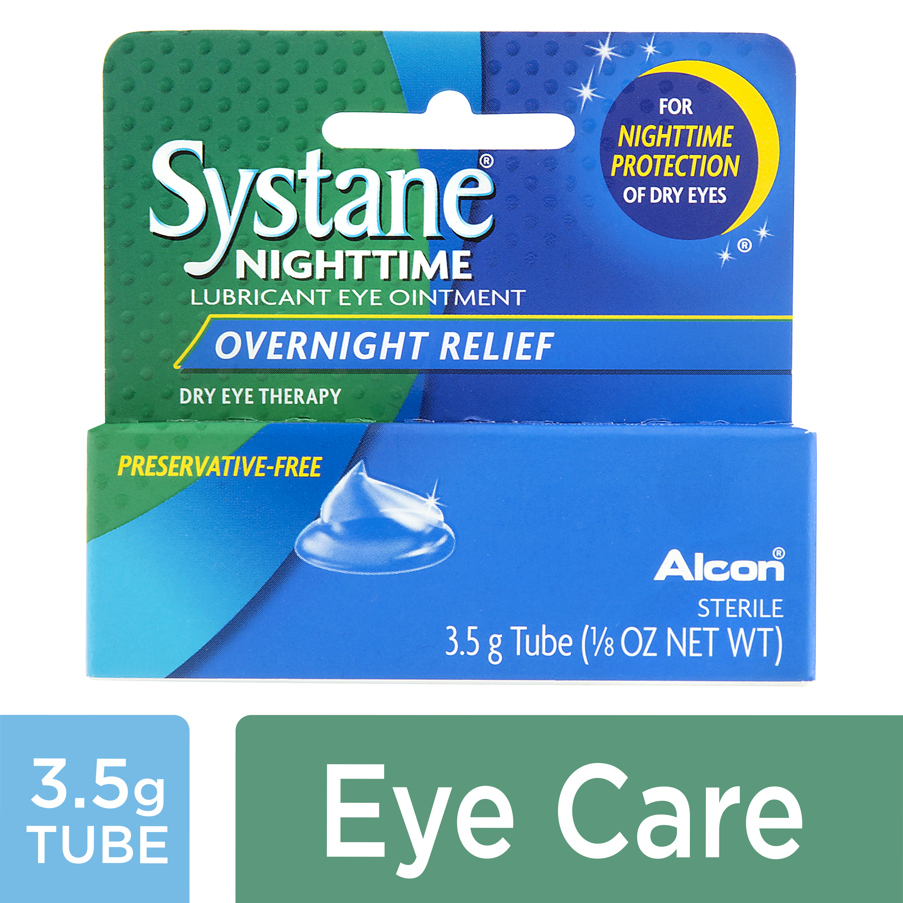 SYSTANE Lubricant Eye Ointment, Nighttime dry eye therapy, 3.5 g