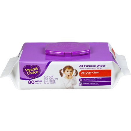 Parent's Choice All-Purpose Wipes, 80 sheets