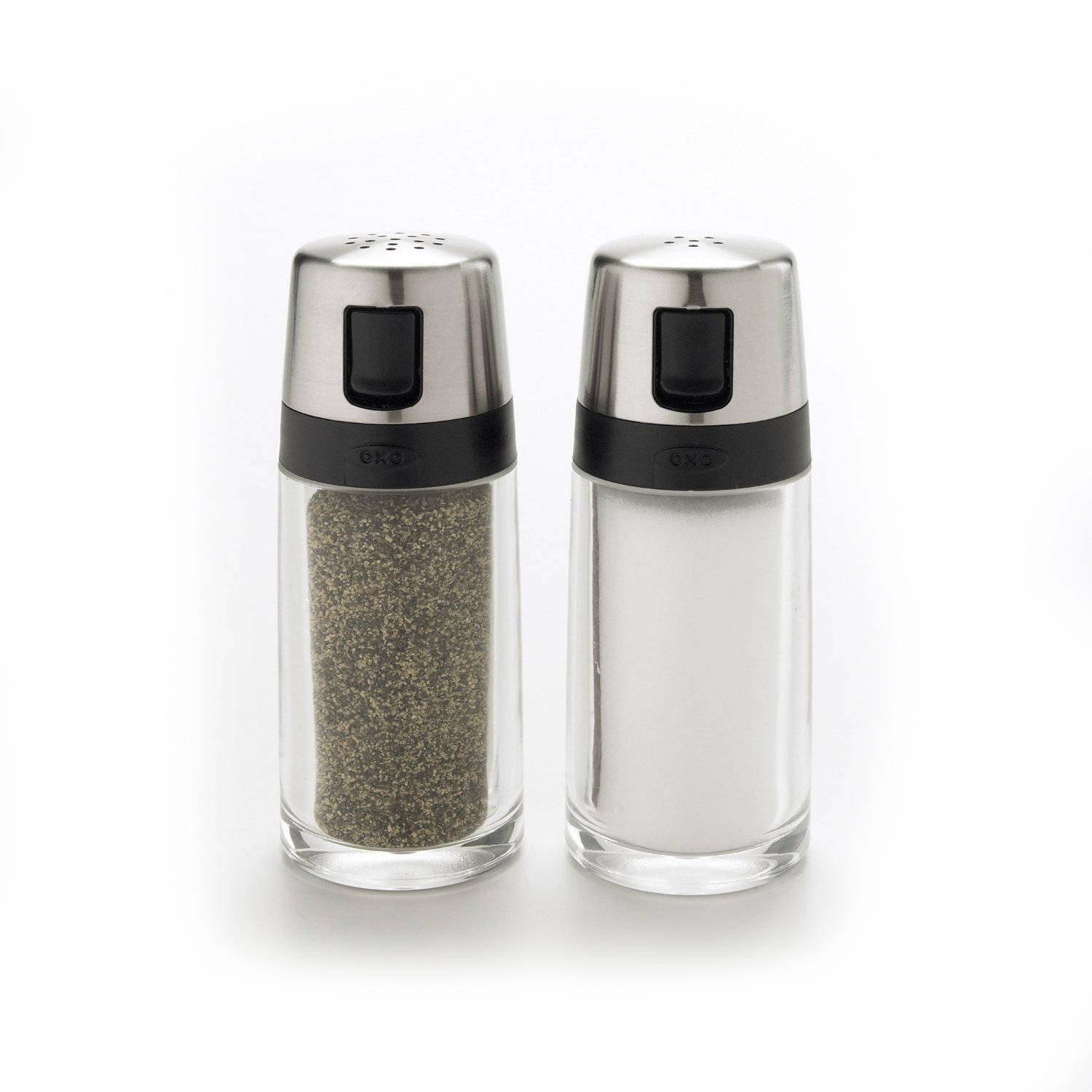 OXO Good Grips Salt and Pepper Shaker Set by OXO