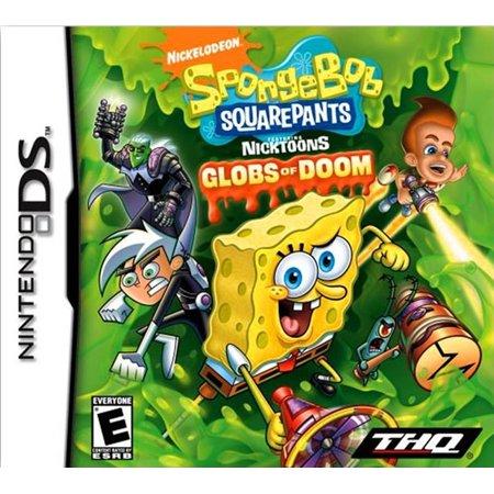 Spongebob Squarepants Featuring Nicktoons  Globs Of Doom Nds