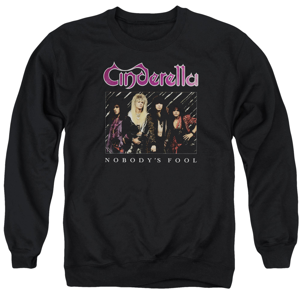 Cinderella Nobody's Fool Mens Crew Neck Sweatshirt