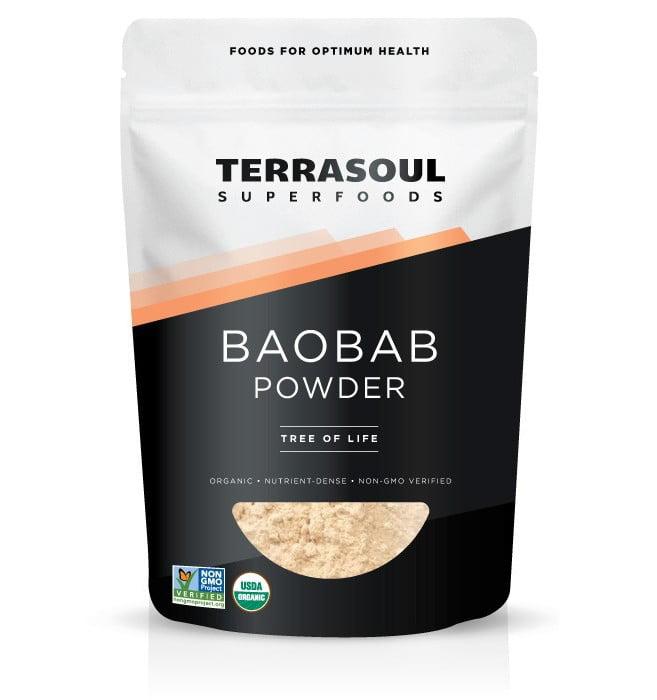 Terrasoul Superfoods Organic Baobab Powder, 12.0 Oz