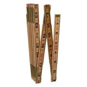 Lufkin 72 in. L x 5/8 in. W Wood Rule SAE