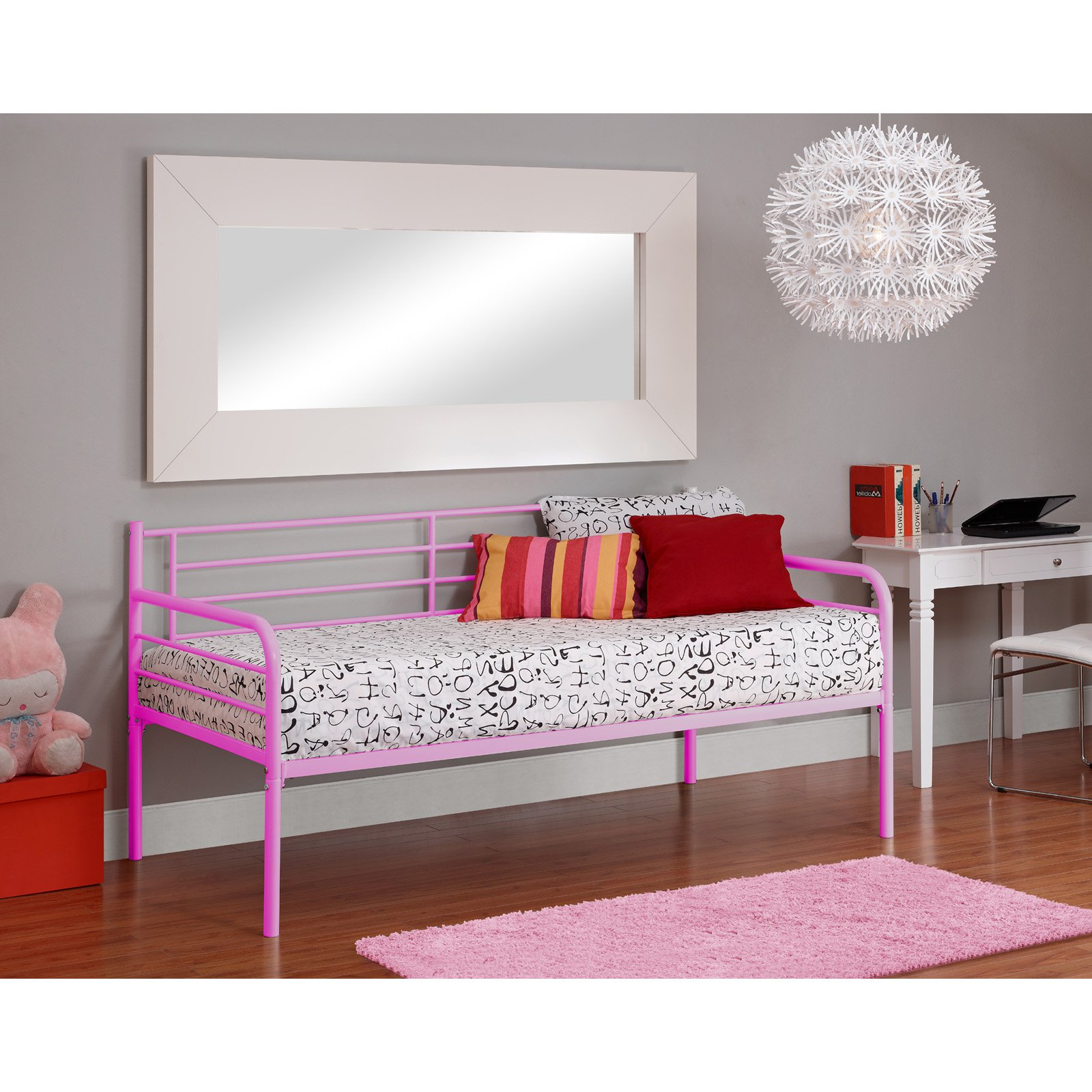 DHP Contemporary Metal Daybed Frame Multiple Colors