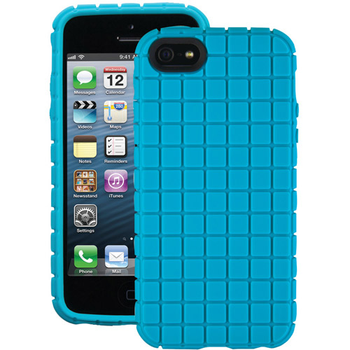 Speck Pixelskin Case iPhone SE 5S 5 Peacock Blue SPK-A0709