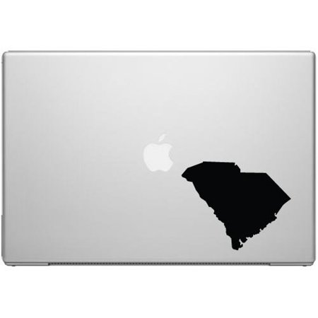South Carolina Palmetto State Gamecock Pride Decal Sticker   Black 5  Vinyl Decal For Cars  Macbooks  And Other Laptops