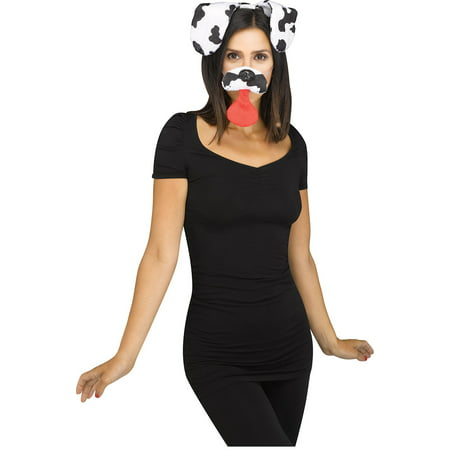 Snapchat Dalmatian Dog Filter Adult Costume Kit (Snapchat Effects Halloween)