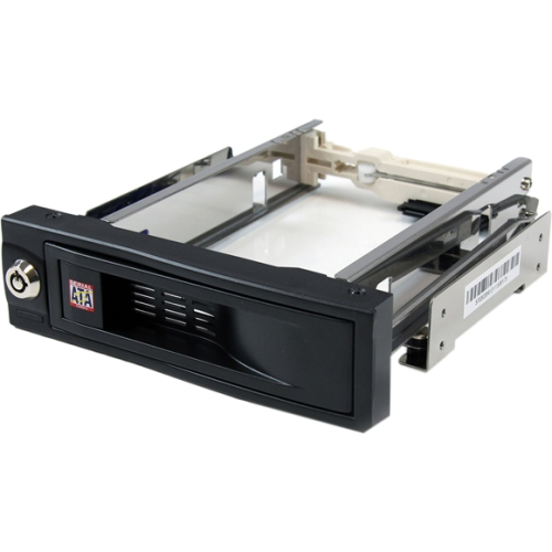 """Startech 5.25"""" Trayless Hot Swap Mobile Rack for 3.5"""" Hard Drive"""