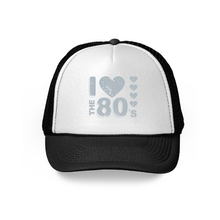 Awkward Styles 80s Hat 80s Trucker Hat 80s Accessories 80s Party Themed Disco 80s Accessories I Love the 80's Baseball Caps for 80s Fans 1980s Music Lovers 80s Halloween Party Accessories