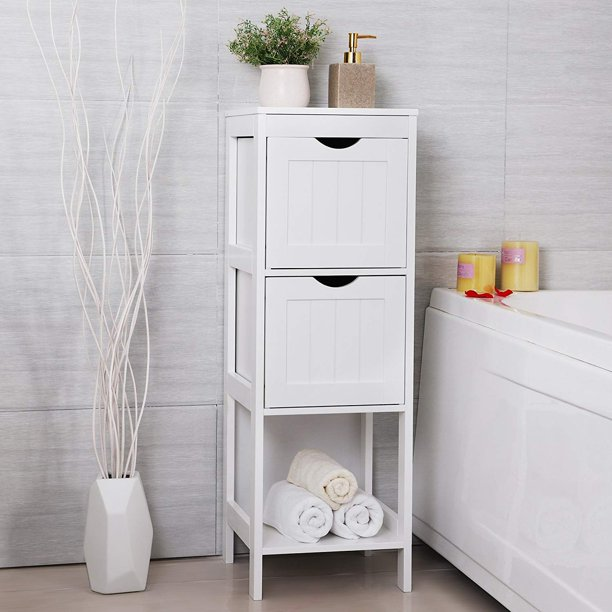 Bathroom Storage Cabinet Standing, Small Bathroom Floor Cabinet With Drawers