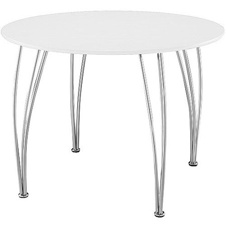 Shell bentwood round dining table white - Shell bentwood dining set ...